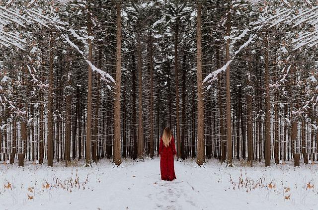 zimske obleke grejejo tudi v snegu
